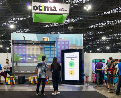 Otima na Campus Party 2017